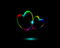 http://www.dreamstime.com/royalty-free-stock-photography-abstract-vibrant-valentine?s-day-heart-symbols-black-background-beautiful-can-be-used-as-greeting-card-image31885667